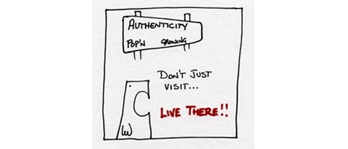 authentic leadership - choose who to be