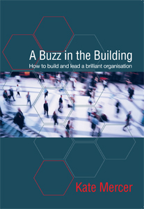 A Buzz in the building book cover